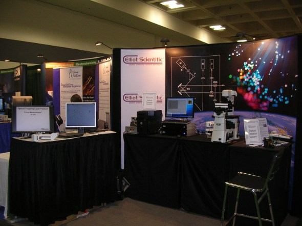 The Elliot Scientific Booth at 2010's Biophysical 54