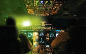 Laser pointers are an increasing hazard for pilots