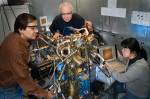 Single Molecule Spectroscopy at the Brookhaven National Laboratory, USDE