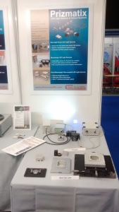 Mad City LAbs and Prizmatix components we on show at the recent Photonex event held in Coventry